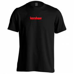 Футболка Kershaw Black Short Sleeve T-Shirt 2018 KSHIRTKER181